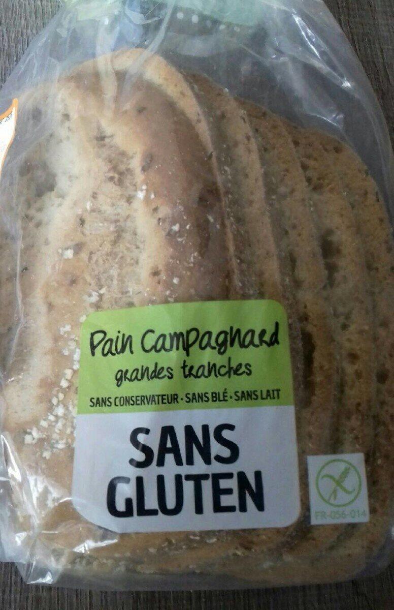 Pain campagnard sans gluten - Produit - fr