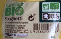 Courge spaghetti - Ingrediënten - fr