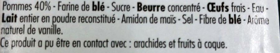 Tarte à la Normande - Ingrediënten
