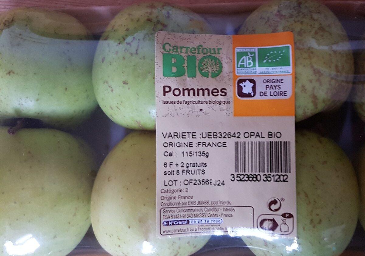 Pommes - Ingrediënten