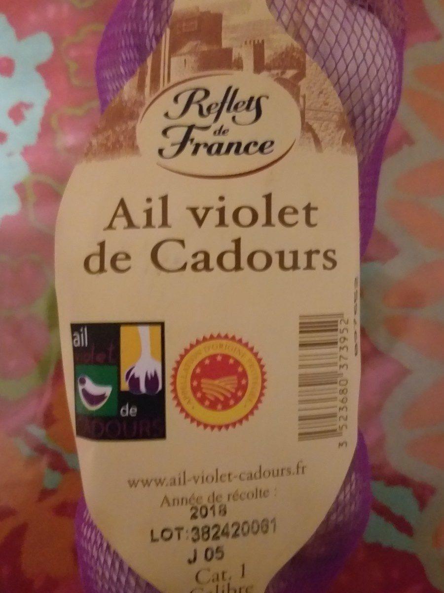 Ail violet de Cadours - Ingredienti - fr