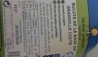 Bulot de la baie de granville cuits - Ingredients - fr