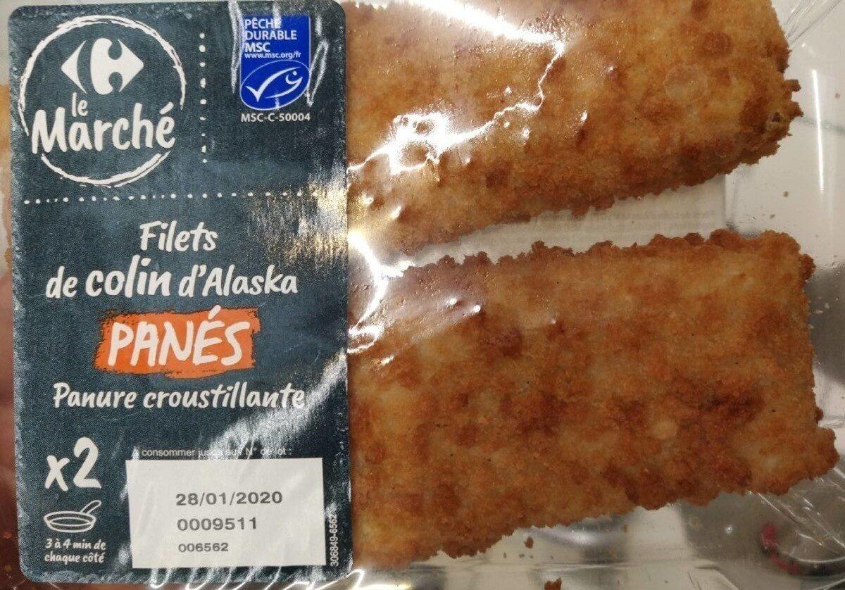 Filets de colin d'Alaska panés - Product - fr