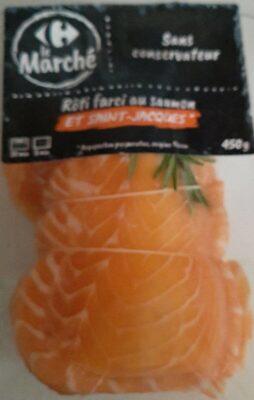 Rôti farcie au saumon et st jacques - Produit - fr