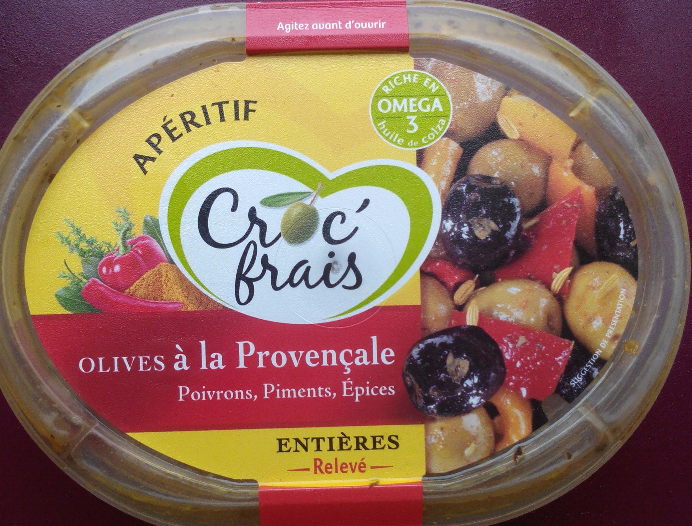 Olives à la Provençale entières - Product - fr