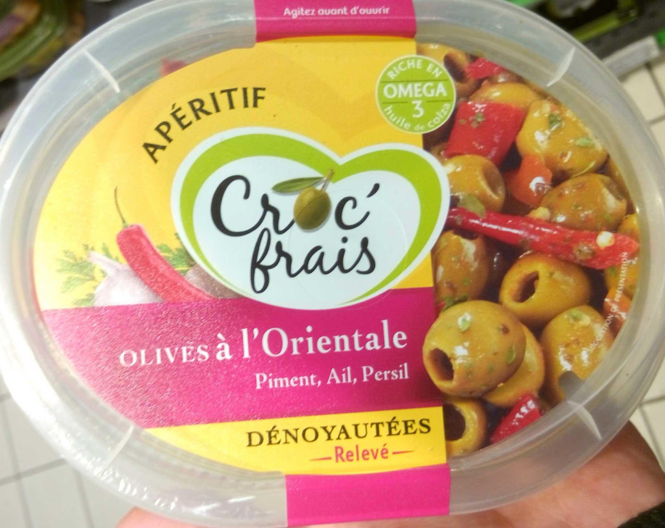 Olives à l'orientale - Product - fr
