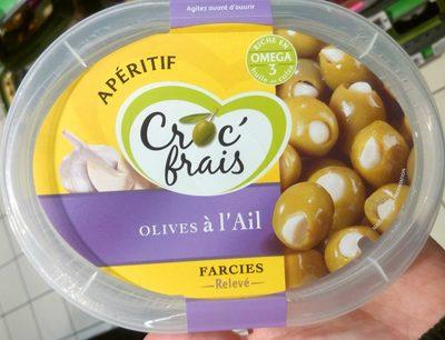 Olives à l'Ail farcies relevé - Product - fr