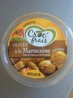 Olives à la Marocaine, CROC FRAIS, barquette - Product