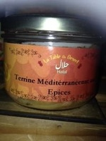 Terrine méditerranéenne aux épices - Produit