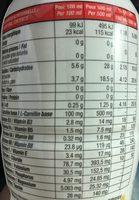 Kaizo - Informations nutritionnelles