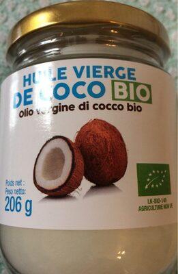 Huile vierge de coco - Product
