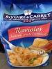 Raviolis jambon cru et fromage - Produit