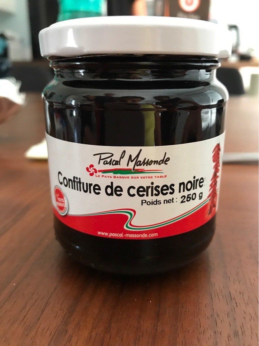 Confiture de cerises noires - Produit