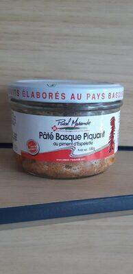 Pâté Basque Piquant au piment d'Espelette - Product - fr