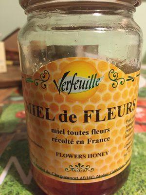 Miel de fleurs des Cevennes VERFEUILLE - Ingrédients - fr