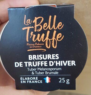 Brisures de truffe d'hiver - Product - fr