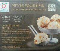 petite folie n°16 glace vanille caramel pécan - Product