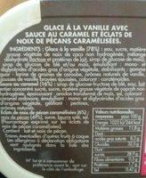 petite folie n°16 glace vanille caramel pécan - Ingrediënten