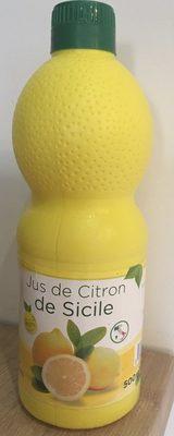 Jus de citron de sicile - Produit