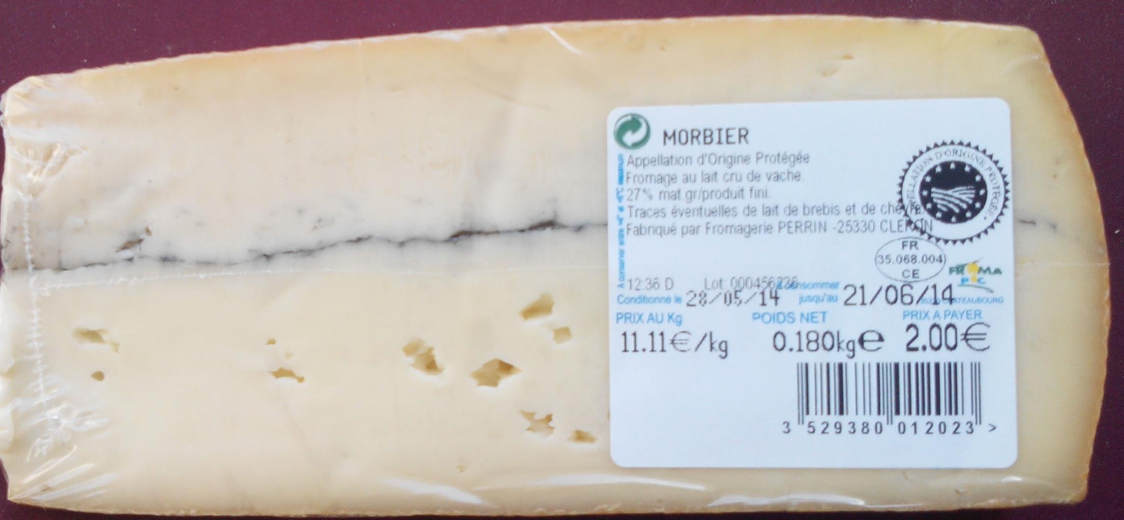Morbier AOP (27 % MG) - Produit - fr