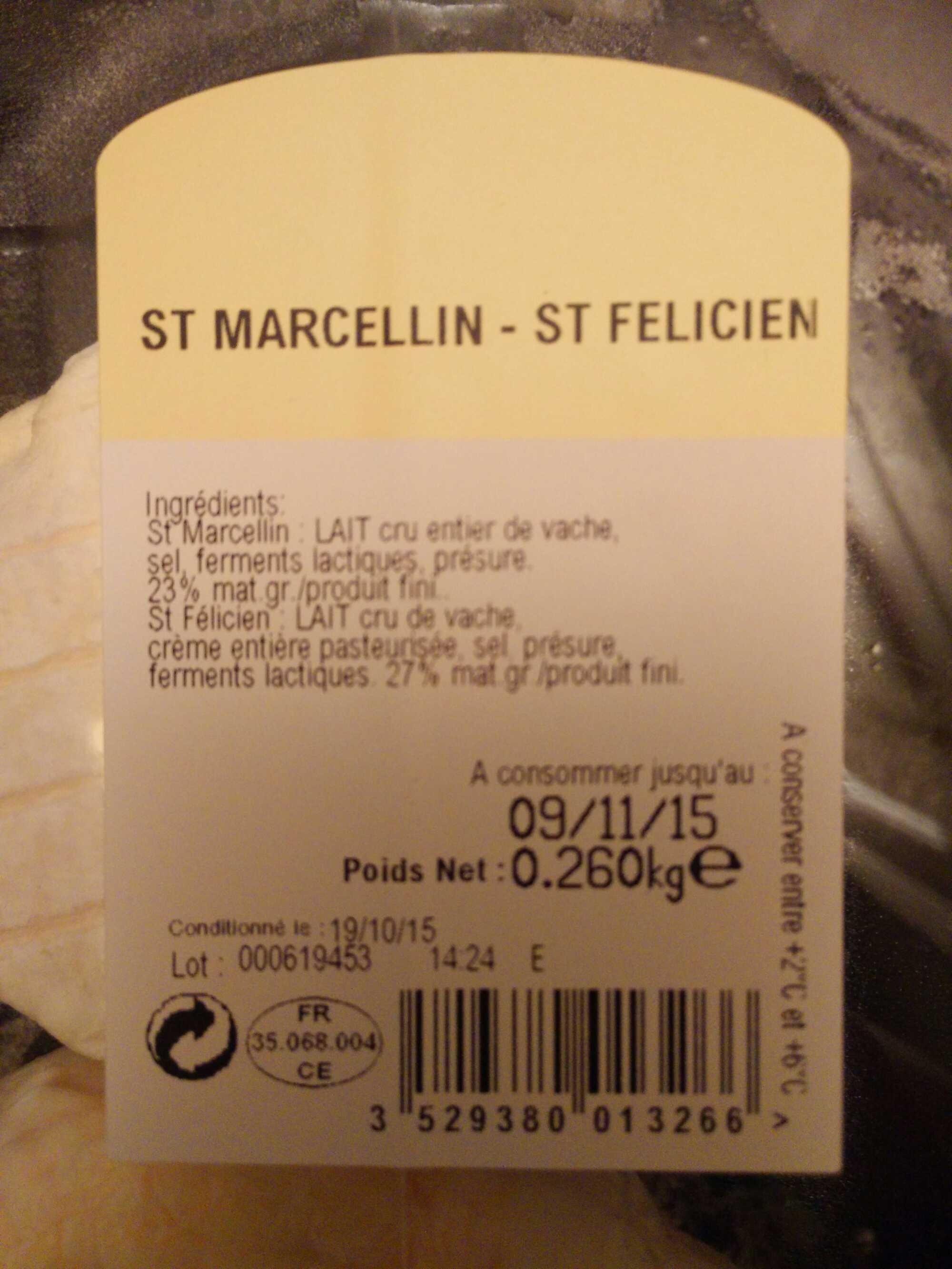 St Marcellin - St Felicien - Produit - fr