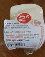 Tomme blanche - Produit - fr