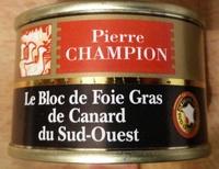 Le bloc de Foie Gras de Canard du Sud-Ouest - Produit - fr