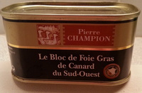 Bloc de foie gras de canard du Sud ouest - Product - fr