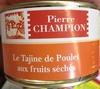 La tajine de poulet aux fruits séchés - Produit