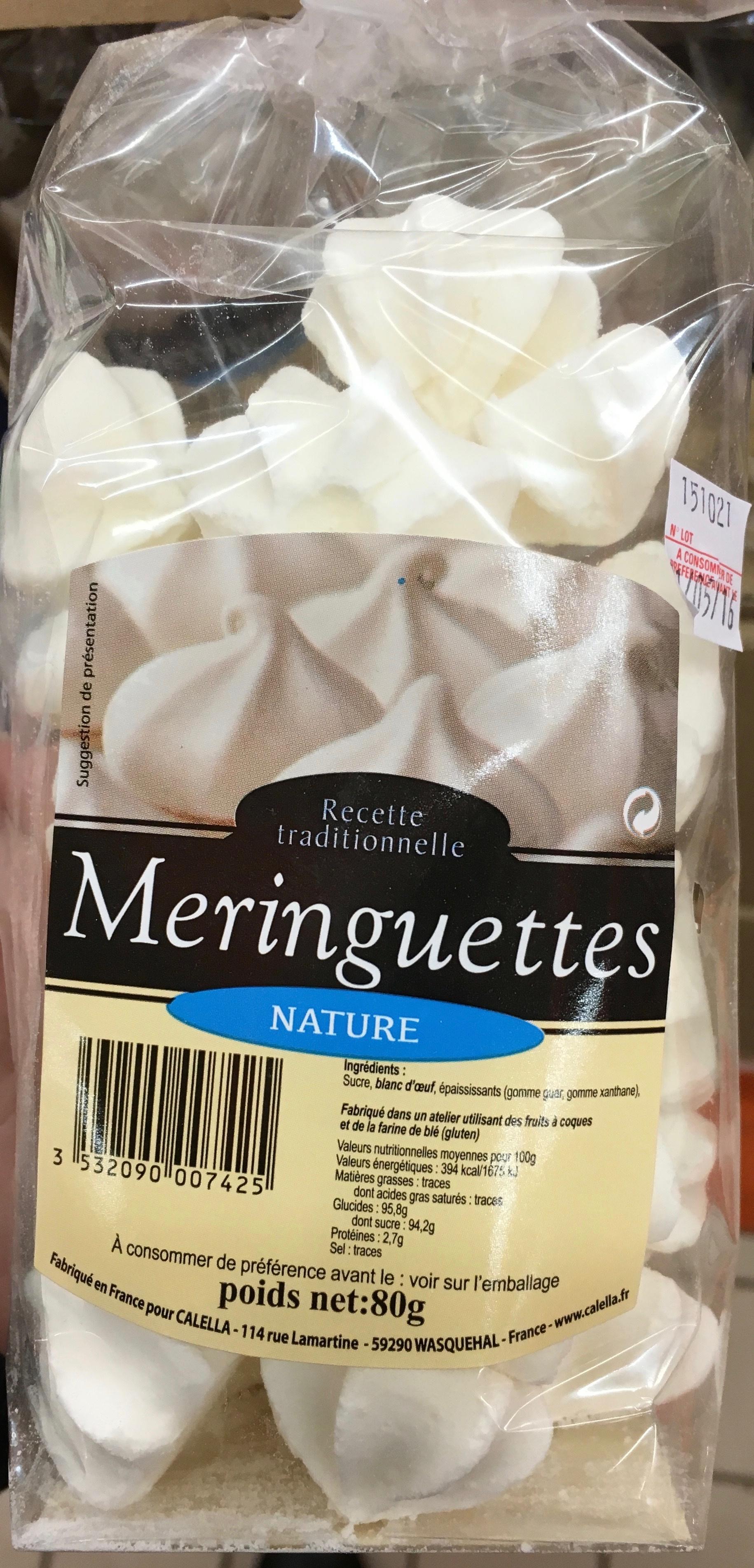 Meringuettes nature - Product - fr