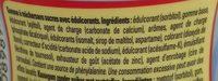 Menthe Fraîche - Ingredients - fr