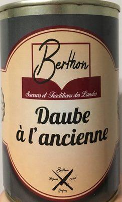 Daube à l'ancienne - Produit - fr