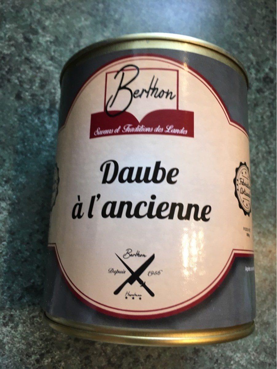 Daube a L'ancienne 800gr - Produit - fr