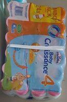 Candida baby croissante - Produit - fr
