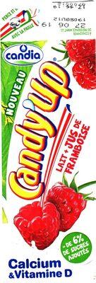 CANDY'UP®  - LAIT + JUS DE FRAMBOISE - Product