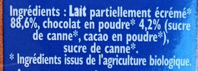 Candy'up bio - Ingrédients - fr