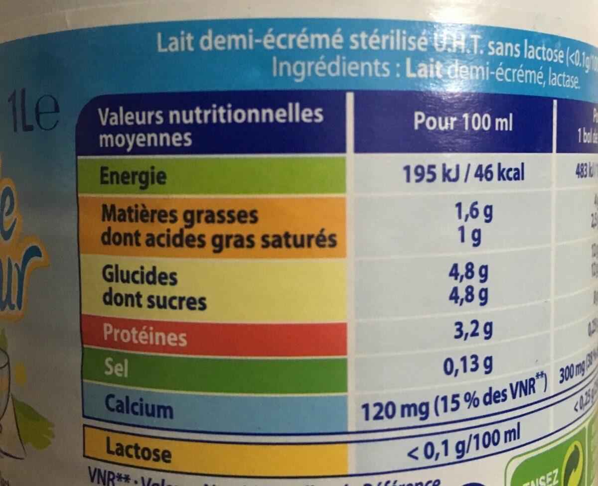 Double Douceur - Ingrédients - fr