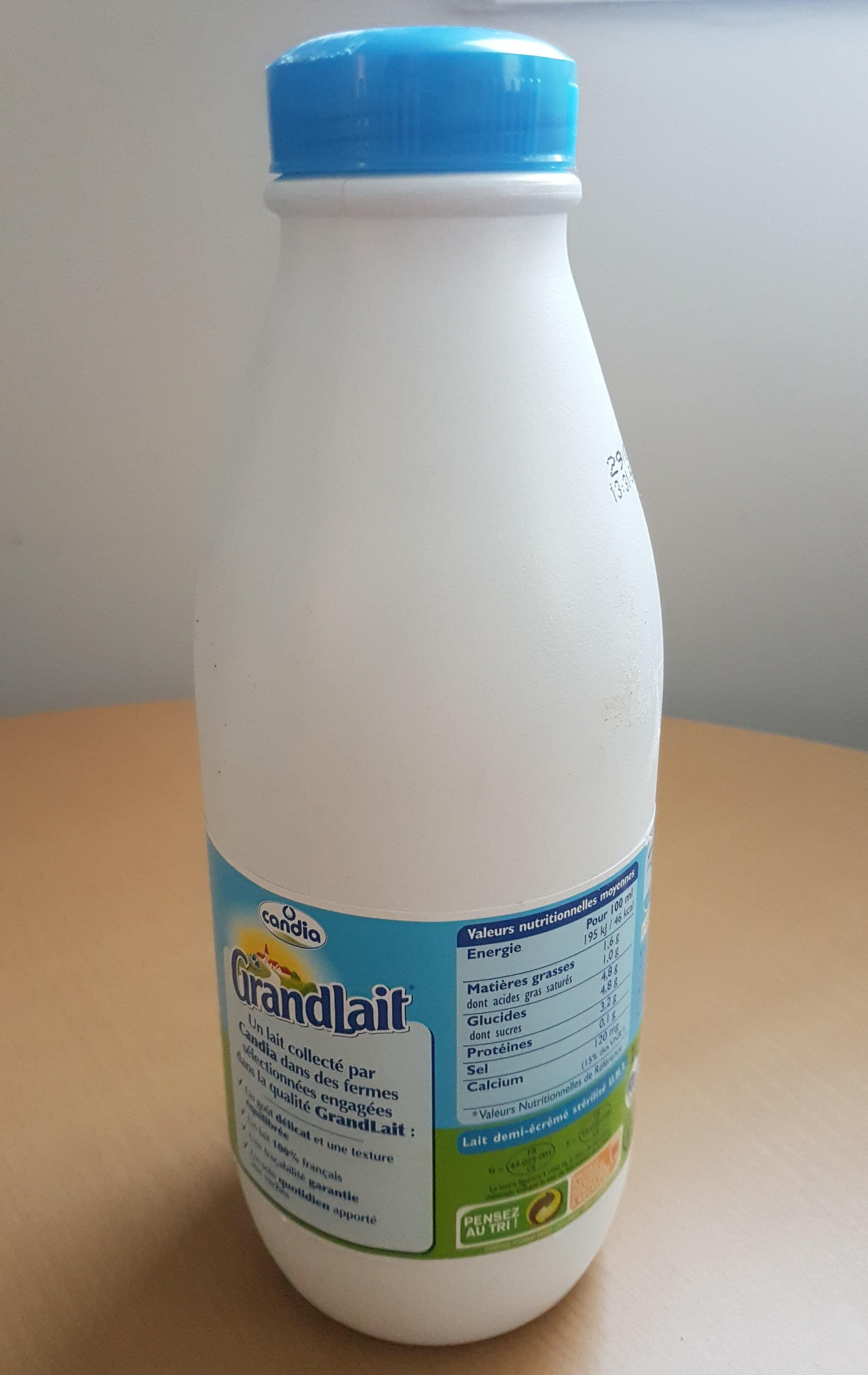 GrandLait - Demi-écrémé - Product
