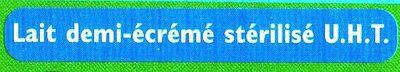 GrandLait - Demi-écrémé - Ingrédients - fr