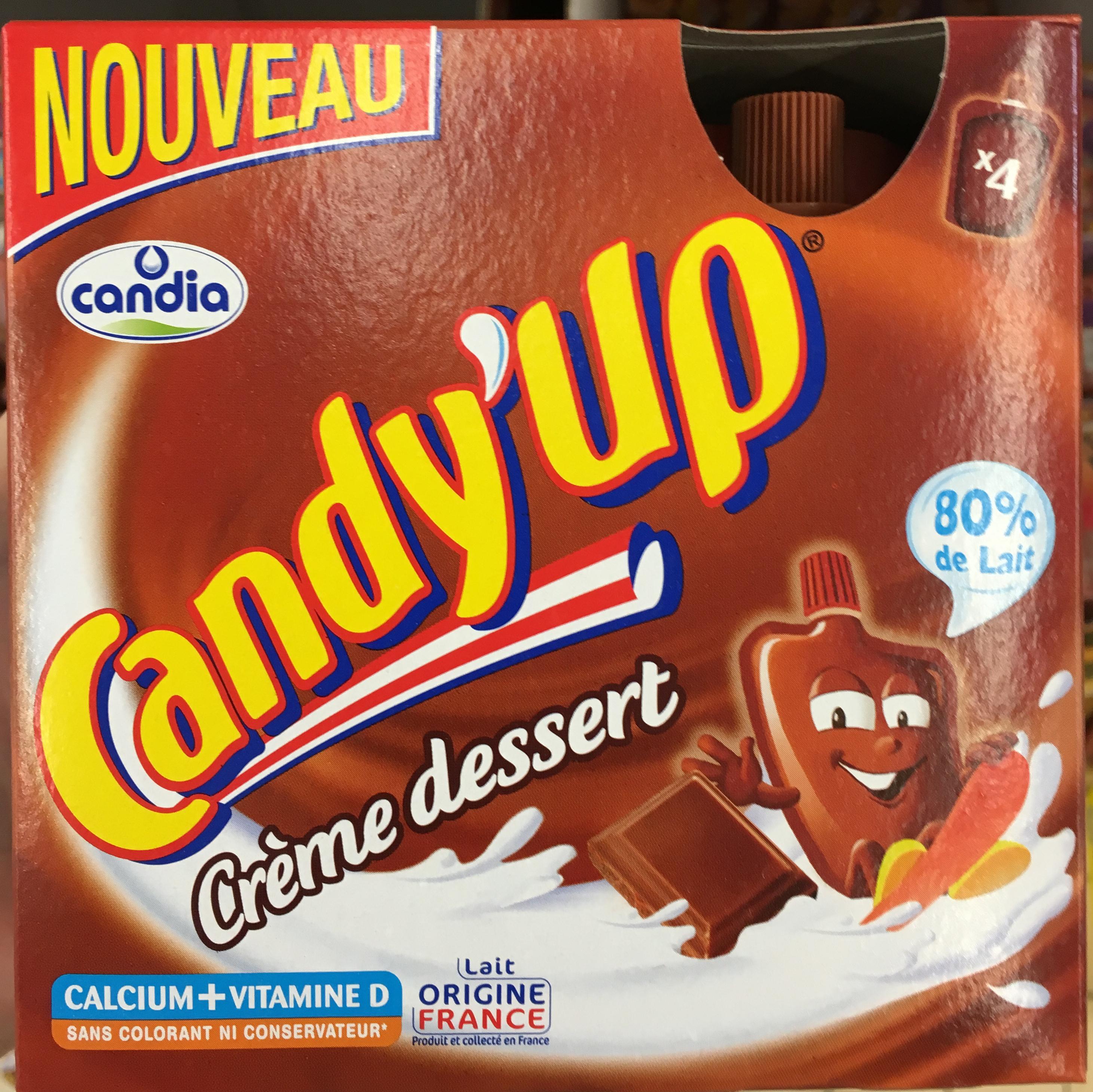 Candy'Up Crème dessert - Produit - fr