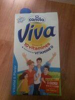 Viva, lait demi-écrémé stérilisé UHT - Produit - fr