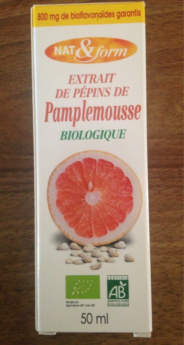 Extrait de pépins de pamplemousse biologique - Product