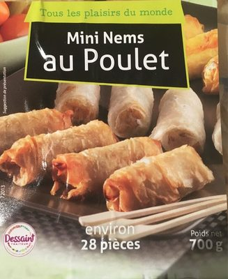 Mini nems au poulet - Product - fr