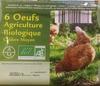 6 œufs agriculture biologique - Product