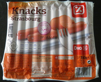 Knacks Strasbourg (x 10) - Produit - fr