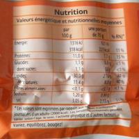Knacks Strasbourg (x 10) - Informations nutritionnelles - fr