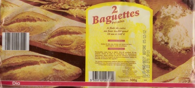 Baguettes Précuites - Product