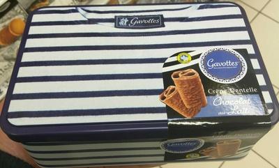 Crêpe Dentelle Chocolat au lait - Product