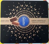 Crêpe dentelle, chocolat au lait, chocolat noir - Product