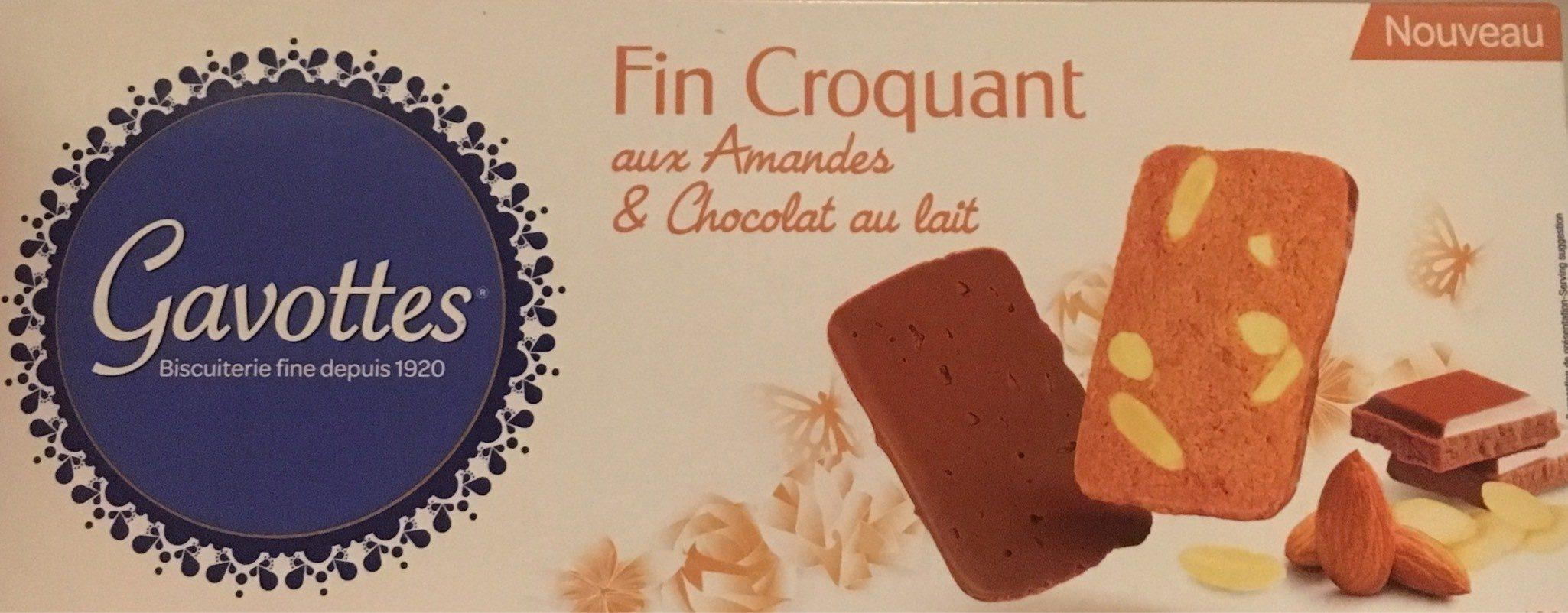 Fin Croquant aux Amandes et Chocolat au Lait - Product - fr